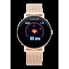 Reloj Smart WALL STREET 42mm IP ROSE GOLD SILI PINK