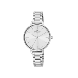 STYLE 34MM SILVER DIAL...