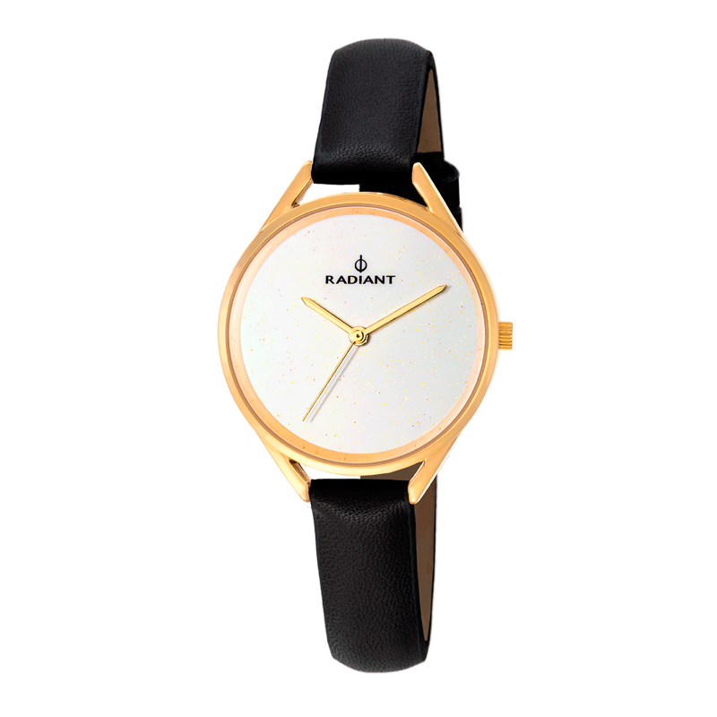 STARLIGHT 34MM WHITE DIAL / LEATHER ST
