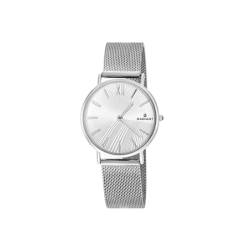 DIARY 32MM SILVER DIAL...