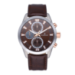 GUARDIAN ALL SS 44MM BROWN DIAL&LEAT. ST
